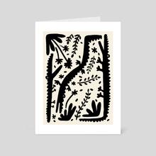 Alligators - Art Card by Joseph Patton