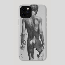 Back of man#1803 - Phone Case by Hongtao Huang