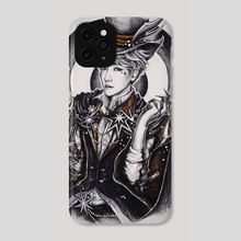 Dark Circus: Knife Thrower - Phone Case by Tiffany D