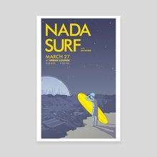 Nada Surf, Utah  - Canvas by David Habben