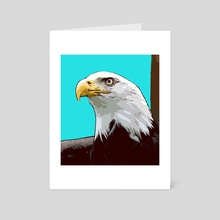 Extinction - Eagle - Art Card by Xtinction