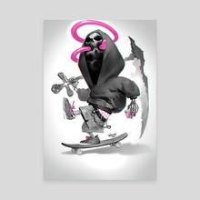 Skate or Die! - Canvas by Svetlin Velinov