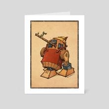 R2-Nocchio - Art Card by Greg Marathas