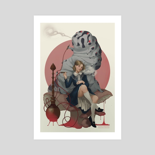 Alice in Wonderland by Mona Finden