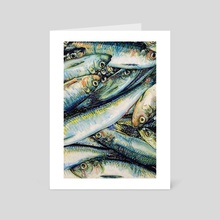 Plenty of Fish - Art Card by Maria Titan