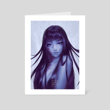 Tomie  - Art Card by osh RED