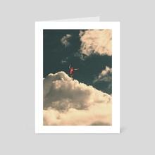 On edge - Art Card by Nikola Miljkovic