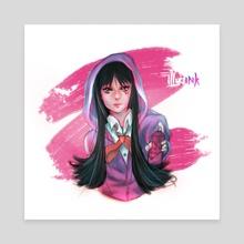 Mio Akiyama - K-ON - Canvas by illyaink