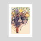 Spirit of Spring - Art Print by Aleksandra Popowicz