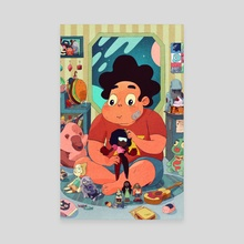 Steven  - Canvas by Boya Sun