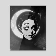 MIDNIGHT FOG HORROR - Acrylic by Tony Kei