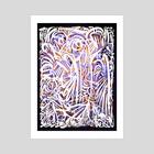 White forest - Art Print by Braco Fraz