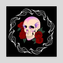 Roses  - Canvas by Artzy Toast