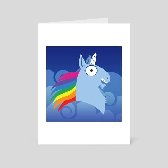 Silly Beasty : Unicorn by Valériane Duvivier