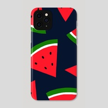 Watermelons - Phone Case by Pineapple Art