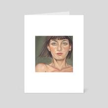 Sister Two - Hope - Art Card by D. Ahsén:nase Douglas