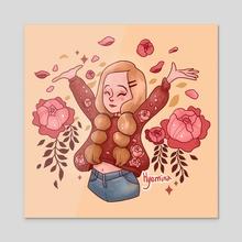 Yay - Acrylic by Hyemin Yoo
