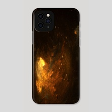Lake of Fire - Phone Case by Ana Diaz Cano