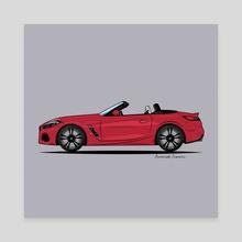 BMW Z4 - Canvas by Animesh Tewari