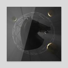 The Horse II - Acrylic by Danel Iriarte