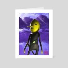 Earl of Lemongrab - Art Card by Bráulio Gregorio