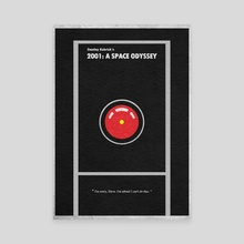 2001: A Space Odyssey - Canvas by Deniz Akerman