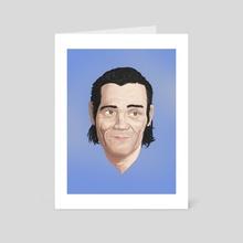 Chet - Art Card by Ferran Sirvent