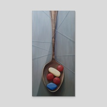 Your Daily Spoonful - Acrylic by Sylvain Klein