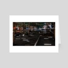 Night New York City (2020-5-GNY-163) - Art Card by Vlad Meytin