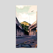 Hutt Road - Canvas by Zoë McLean