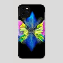 Angel's wings painting - Phone Case by Bruce Rolff