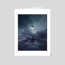 AGALLACH. - Art Card by Mikko Raima