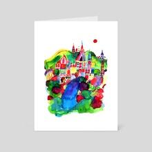A New World - Art Card by Ana Nuñez