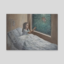 the fairest - Acrylic by Sophie Liu