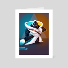 Nib - Art Card by Or Geashi
