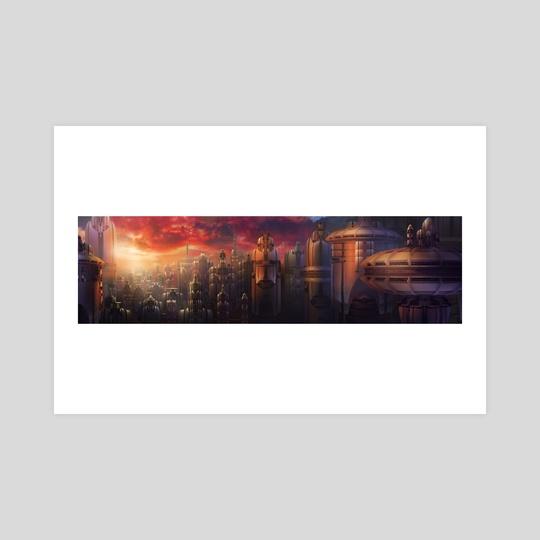 metropolis magic hour by Joshua Kim