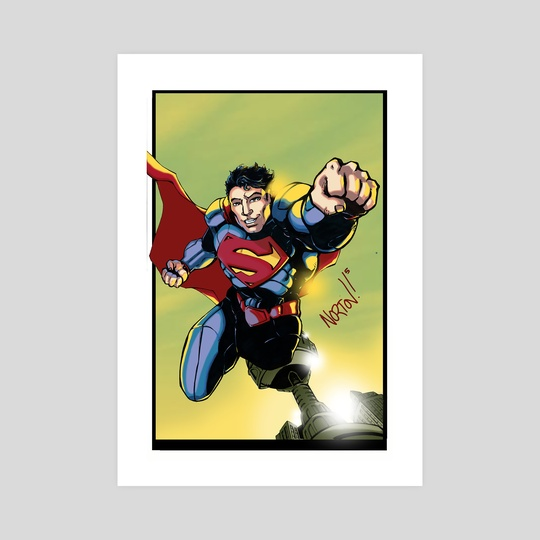 Superman by Shawn Norton