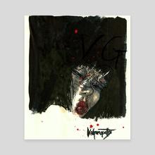 Aliya - Canvas by Vin Ganapathy