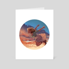 Fly - Art Card by Marta Vives