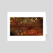 Follow the Sparkly Trail - Art Card by Andi GreyScale