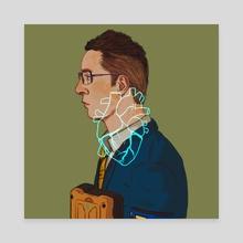 Heartman (Ver. 2) - Canvas by Eurydia