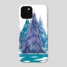 Winter Forest - Phone Case by Carly A-F