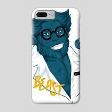 Beast - Phone Case by Terra Simone