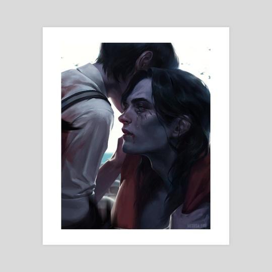 Eren  Mikasa by medusa_149