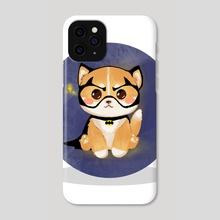 Super Shiba - Phone Case by Jesfellia Tan
