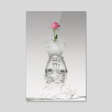 Splash - Acrylic by Sweet Disorder Art
