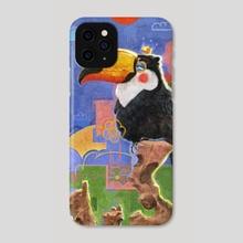 Toucan in Abstraction - Phone Case by Yevhenii Slobodenko