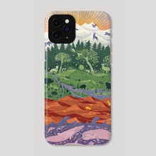 Love for Earth - Phone Case by Nano Février
