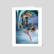 Evenwicht (Balance) - Art Card by Linda van Zanten