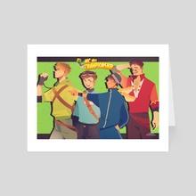 MCC green guardians winn(los)er POV - Art Card by wii Stef